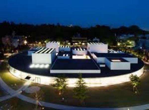 night time, 21st Century Museum of Contemporary Art, Kanazawa