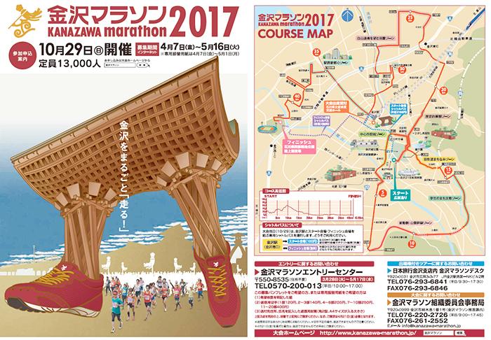 金沢マラソン2017