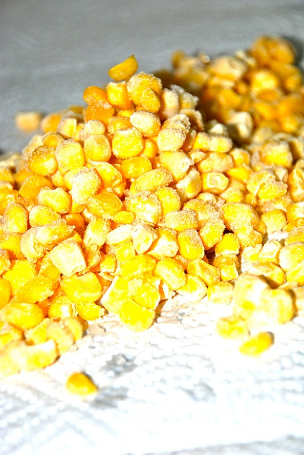 Vertical Frozen Corn Moments
