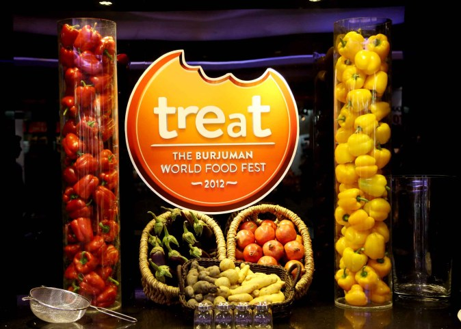 Treat – The BurJuman World Food Fest 2012