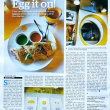 Yello Egg Cafe in Oudh Metha