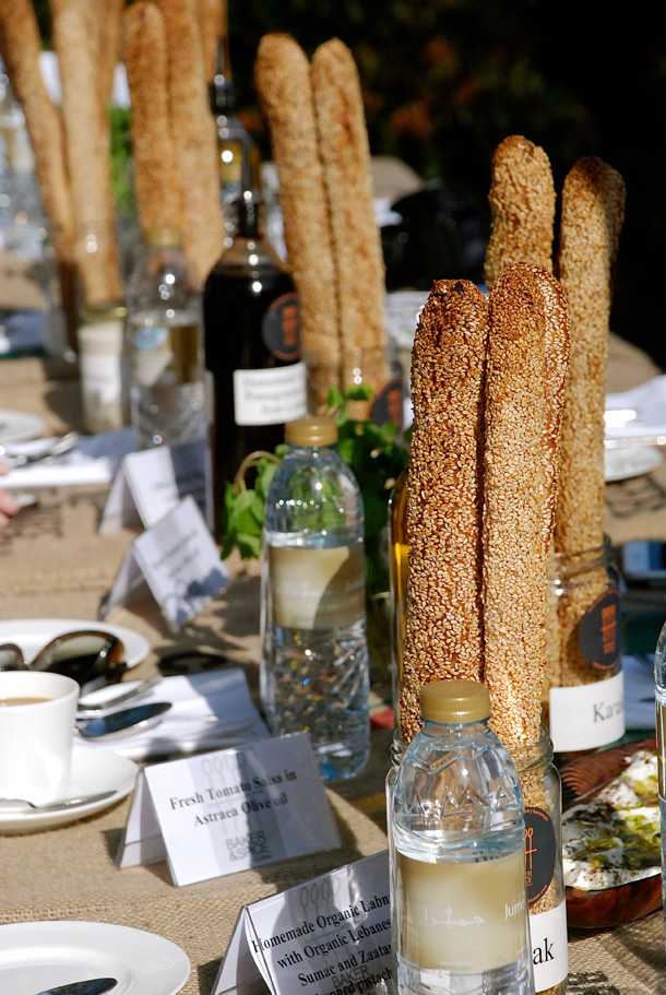 Food from Baker and Spices in The Farmers' Market on the Terrace