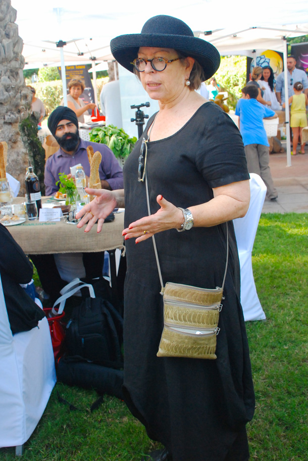 Yael Mejia, the founder of Baker & Spice in Dubai, pioneered The Farmers Market on the Terrace back in 2010.