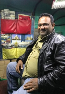Gaffar Ali, the owner of Heritage Tuk Tuk in Agra
