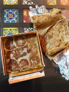 Packed Galawati kabab from Tunday Kababi from LucknowPacked Galawati kabab from Tunday Kababi from Lucknow