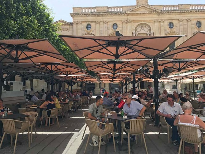 Caffe Cordina in Valletta
