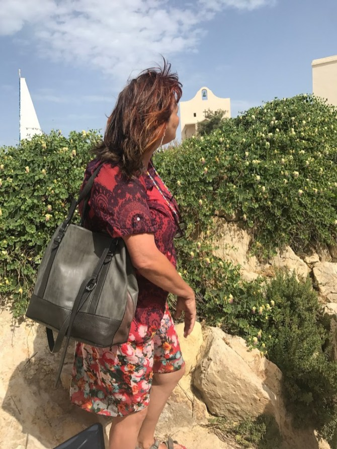 Yvette Ellul Falzon, our guide in Malta