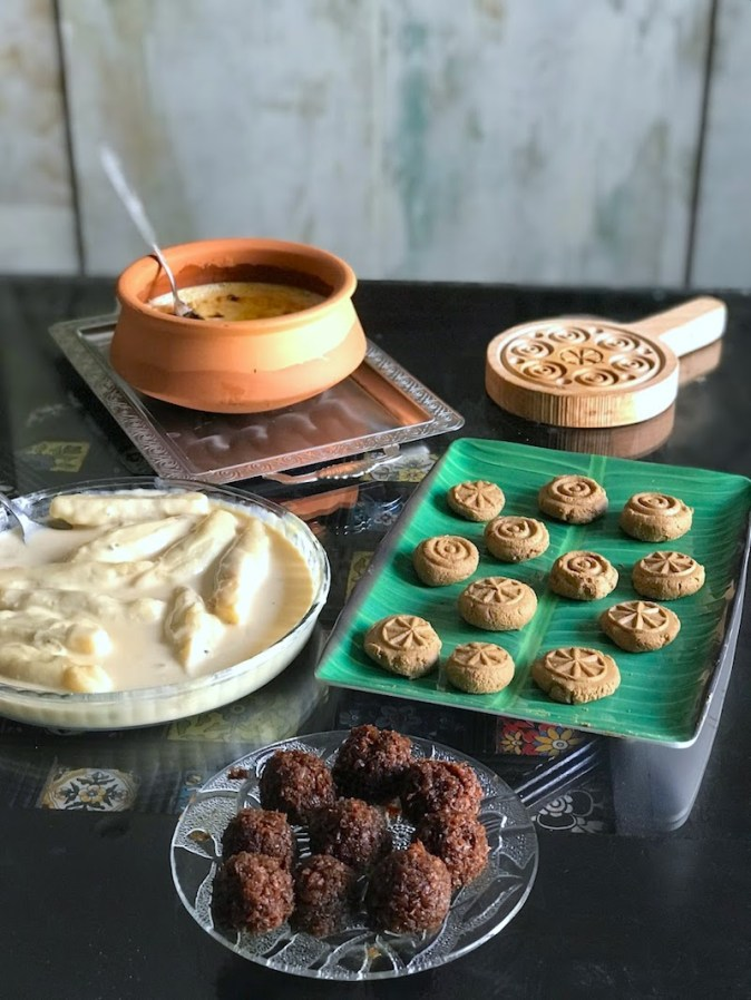 Homemade Bengali sweets for Noboborsho
