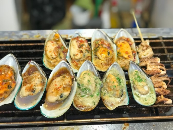 Mussels in Floating Market in Global Village
