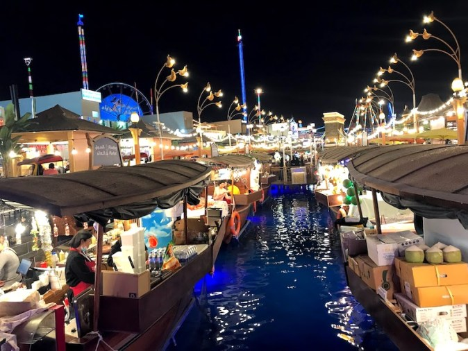 Floating Market in Global Village