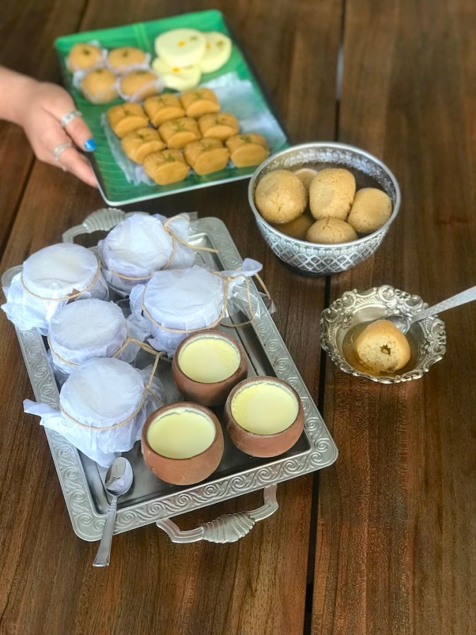 Traditional Bengali Sweets from Banchharam Bengalore