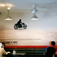 Bikers Cafe | Emirati Breakfast Followed by Emirati Desserts (Only A Bengali Desires For Desserts In An Over-filled Tummy!)
