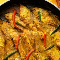 Shorshe Bata Maach - Mustard Salmon In This Case | A Detour From Thailand To Wish Shubho Noboborsho!