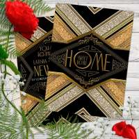 New Home Sweet Home Party Invitation