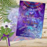 Magical Bohemian Bridal Shower Invitation