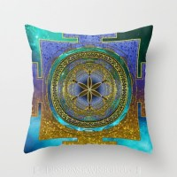 Yantra Mantra Mandala V1 Cushion
