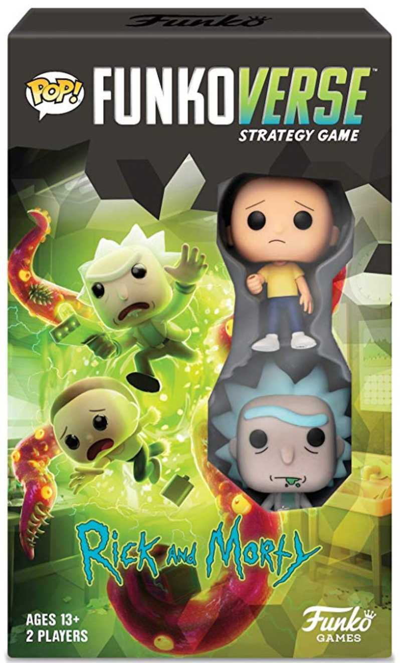 Funko Board Game <strong><em>Rick and Morty</em></strong> Strategy Game