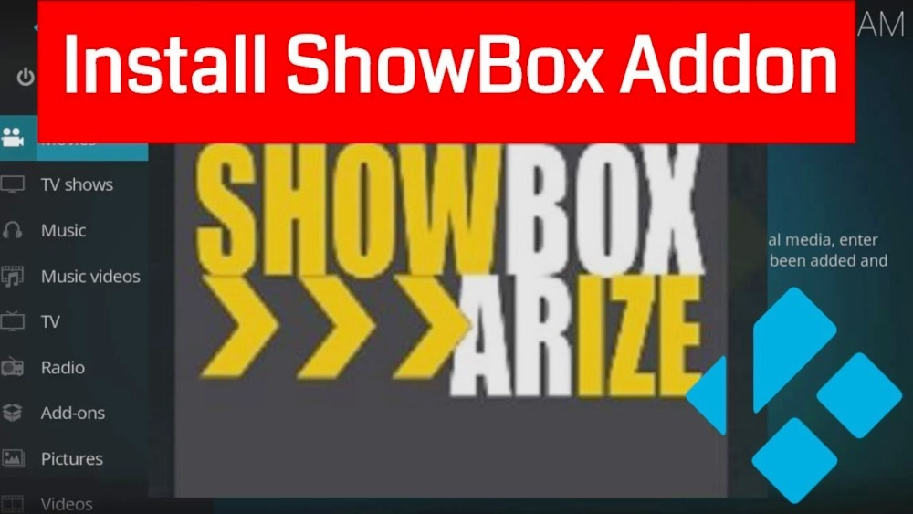 showbox apk arize kodi