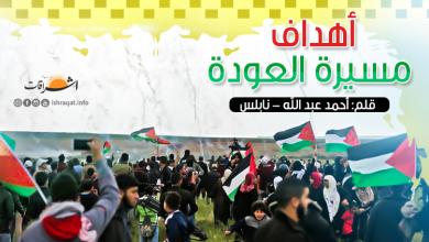 Photo of أهداف مسيرة العودة