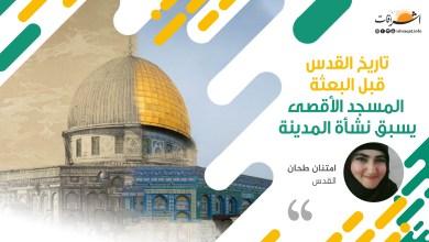 Photo of تاريخ القدس قبل البعثة ، المسجد الأقصى يسبق نشأة المدينة
