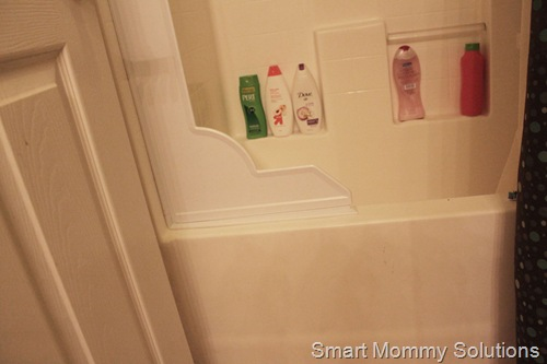 Solution To A Wet Bathroom Shower Splash Guard Ishy And