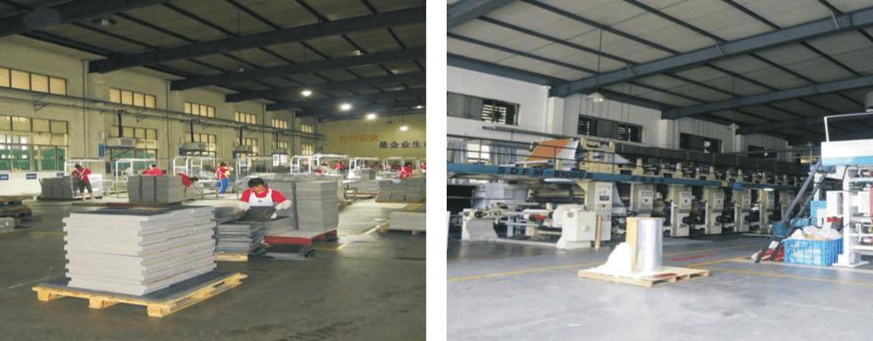 Proses Pembuatan Vinyl Lantai Di Pabrik Kami
