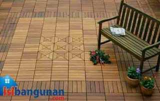 Jenis Penutup Lantai kayu Untuk Flooring Outdoor