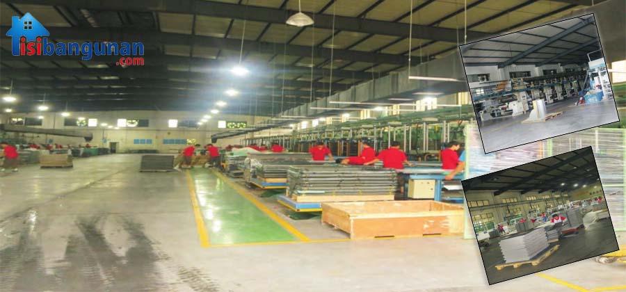 Proses Pembuatan Lantai Vinyl Di Pabrik JT Vinyl PVC