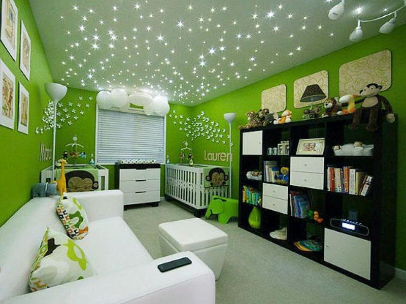 Model dengan lampu tumblr untuk gaya modern - 3 Model Plafon Kamar Tidur Anak Ini dapat Membuat Anak Beristirahat dengan Nyaman