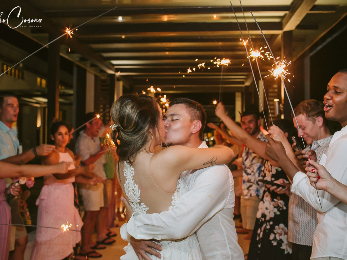 Secrets Playa Mujeres Cancun Wedding in Mexico