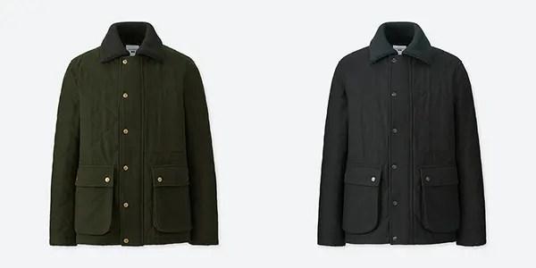 JWA PJウールブレンド キルティングジャケット