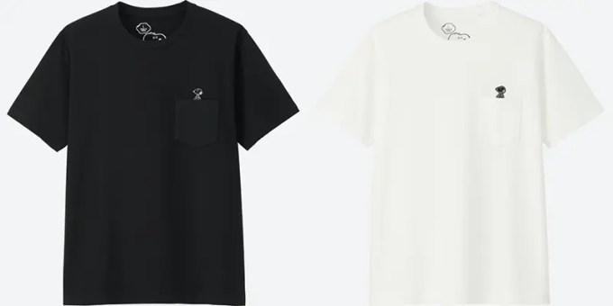 カウズ × ピーナッツ グラフィック ポケT (半袖)