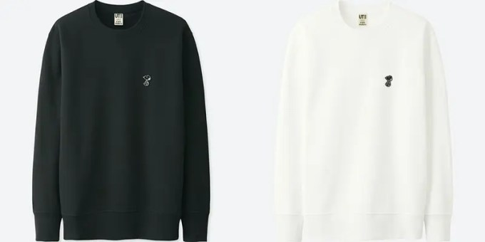 (KIDS)カウズ × ピーナッツ スウェットシャツ (長袖) デザイン2