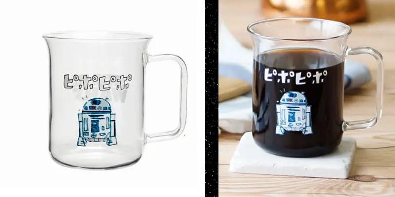 HARIO × STAR WARS 「耐熱マグ (R2-D2)」