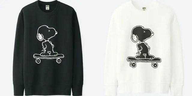 (KIDS)カウズ × ピーナッツ スウェットシャツ (長袖) 1