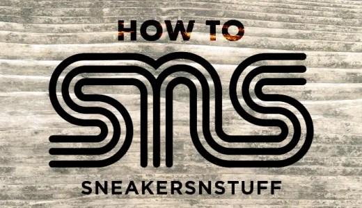 登録も簡単!sneakersnstuff 通販の購入方法と日本までの送料・関税を解説