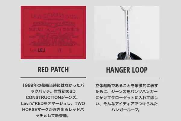 RED PATCH・HANGER LOOP