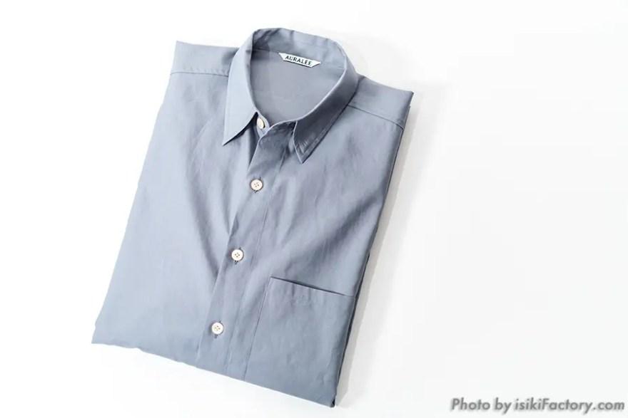 オーラリー・ビッグシャツ