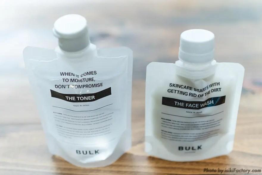 洗顔料と化粧水