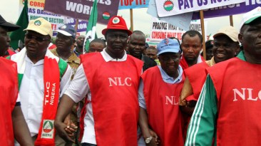 NLC Protest