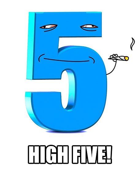 funny-high-five-number