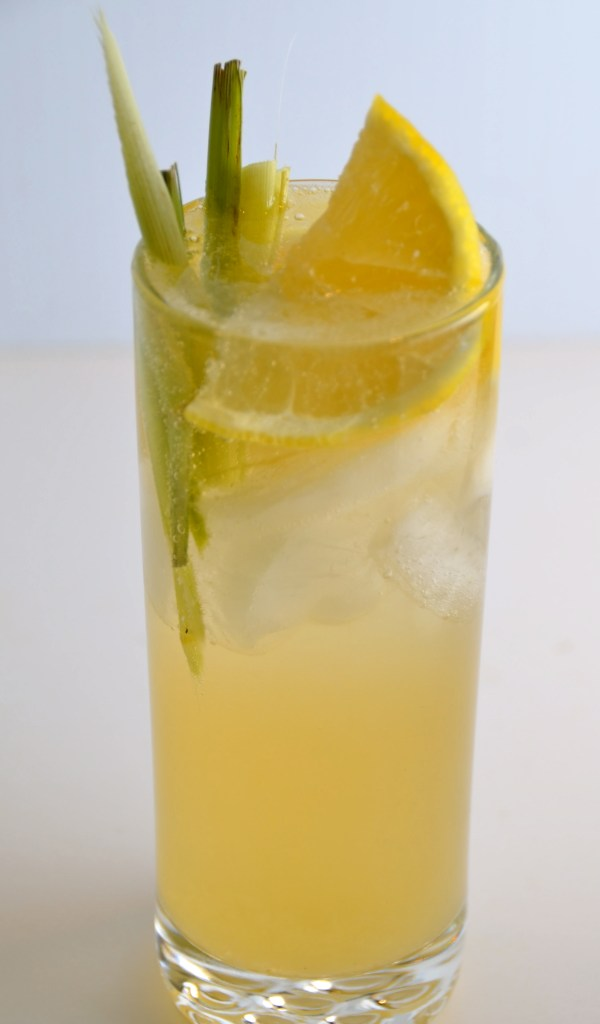 Lemongrass & Elderflower Collins