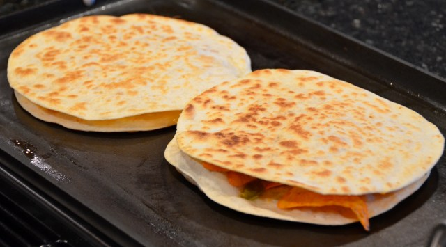 Chicken Doritos Quesadillas