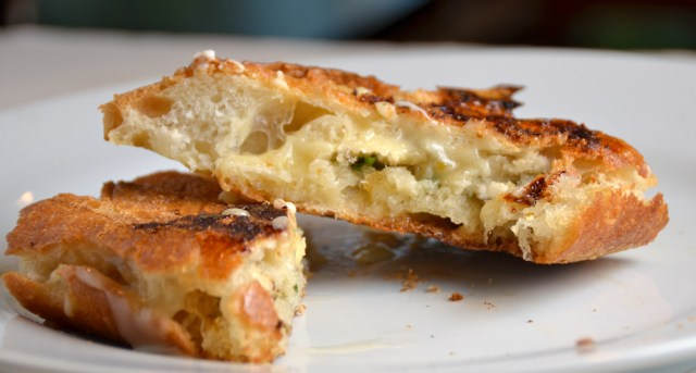 Hot Buttery Brie Jalapeño Melts
