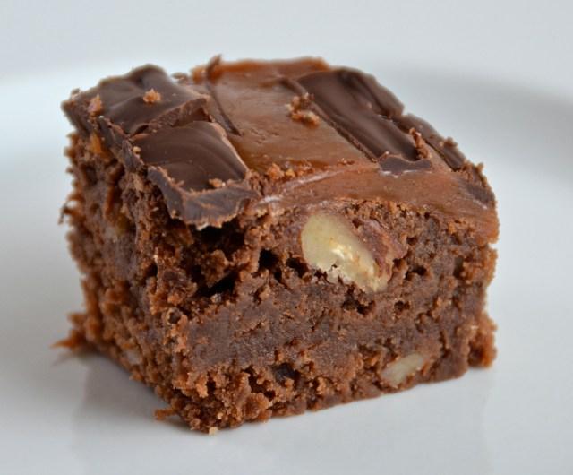 Marbled Caramel Brownie