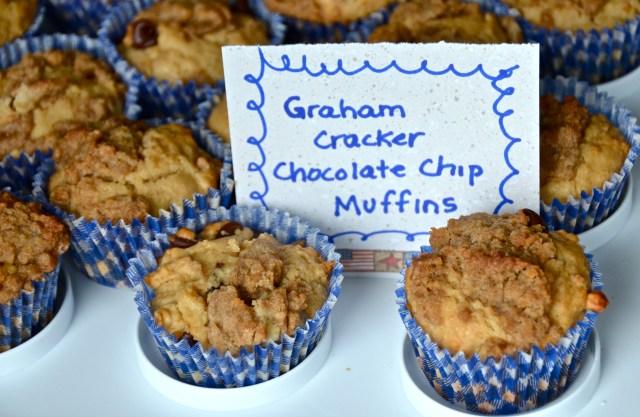 Chocolate Chip Graham Cracker Muffins