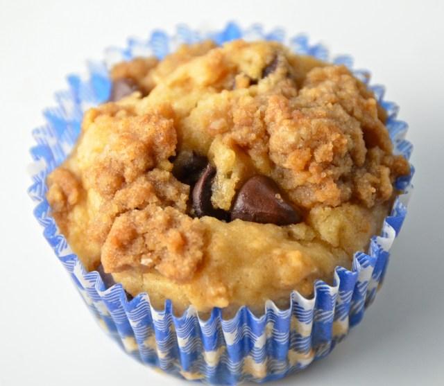 Chocolate Chip Graham Cracker Muffin