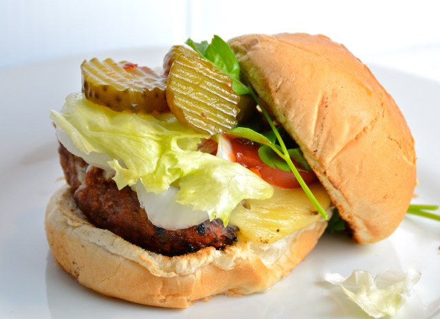 Tangy Meatloaf Burgers