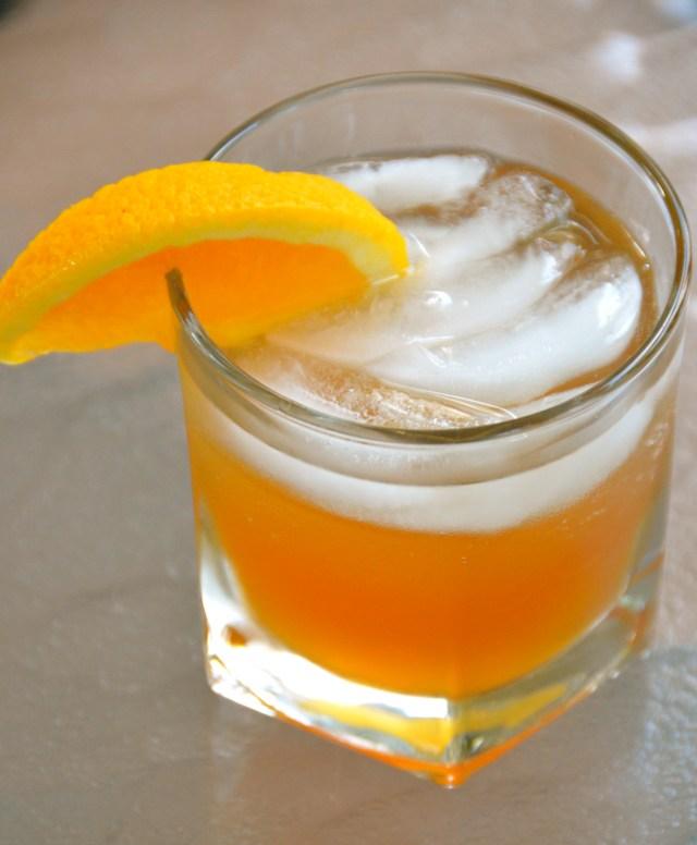 Maple-Bourbon Smash