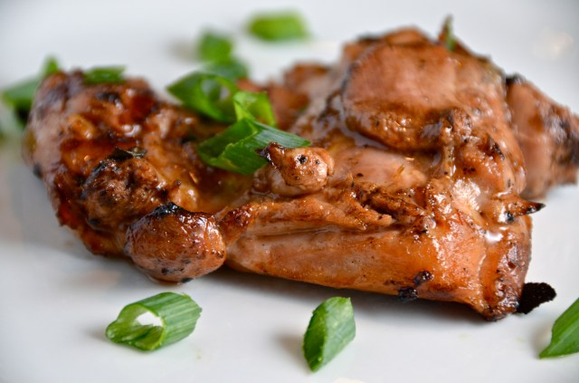 Sticky Boneless Chicken With Asian-Style Barbecue Sauce